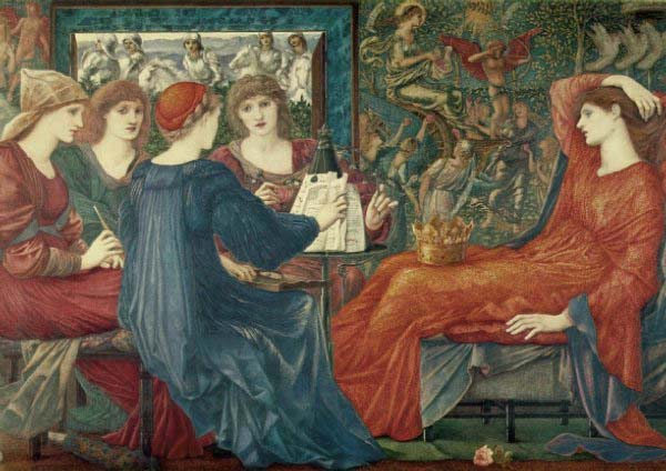 [Burne-Jones Prints - Laus Veneris]