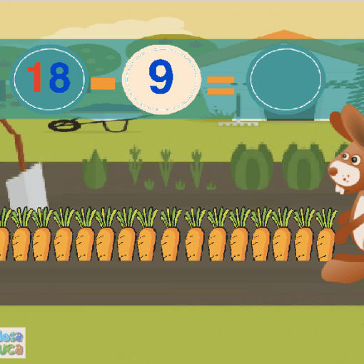 Vamos a comer zanahorias (1-20)