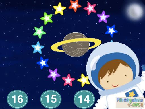 ¿Cuántas estrellas hay en el cielo? (15-20)