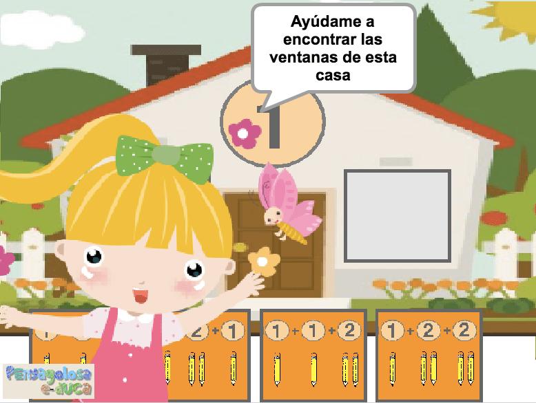 Encuentra las ventanas de la casa (1-5)