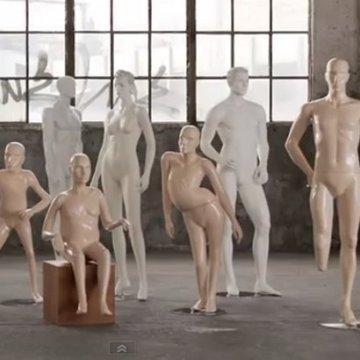 Osobe sa invaliditetom kao modeli za maneken-lutke (video)