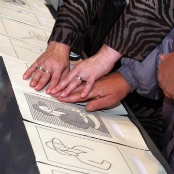 Taktilna izložba spomen zbirke Pavla Beljanskog – Dodirni i oseti