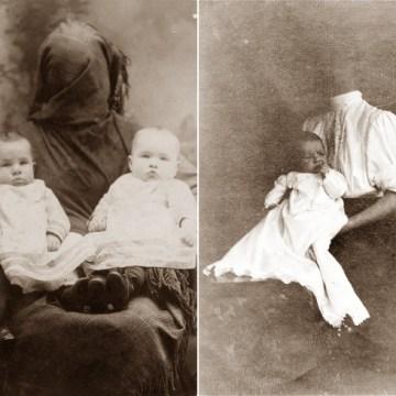 "Mračne tajne starih porodičnih fotografija – Deca ""pospana"", a majke sakrivene (FOTO galerija)"