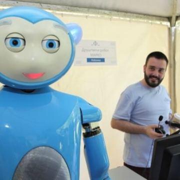 Robot Marko – prvi srpski humanoidni robot za pomoć deci sa cerebralnom paralizom (VIDEO)