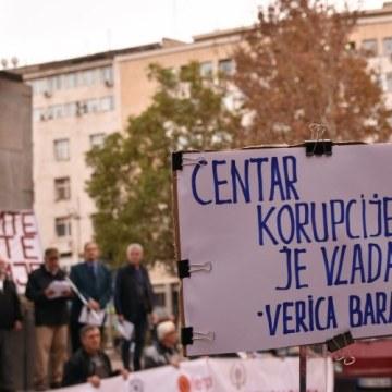 Udruženje Sindikata penzionera Srbije podržava proteste