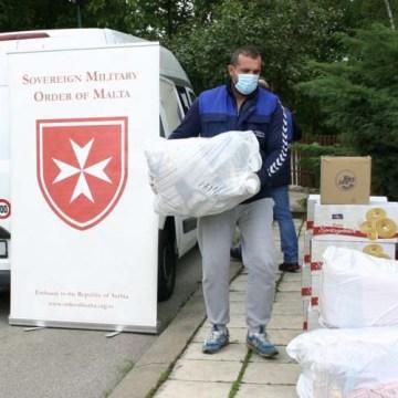 Pomoć Malteškog reda Gerontološkom centru Mladenovac