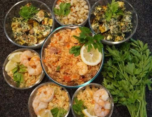 Sunday Meal Prep | @daraboxer