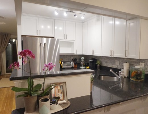 Before and After Kitchen Photos | Peonies and Bees