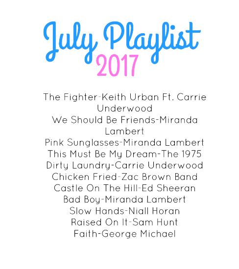 July Playlist -