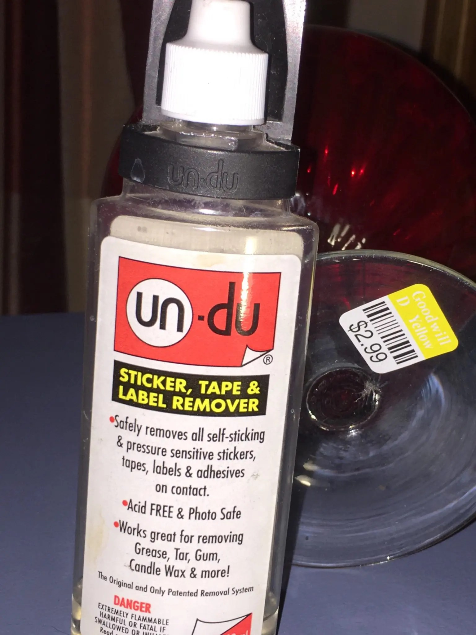 Un-Du The Ultimate Label Remover