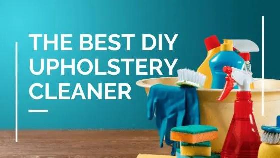 $3 DIY Upholstery Cleaner