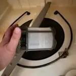 Cleaning Dishwasher Mesh filter