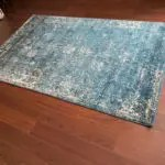 My Cheap 5x7 Area Rug unrolled