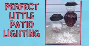 Perfect DIY Patio Lamps