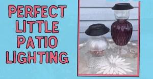Perfect DIY Patio Lamps