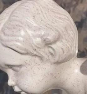 speckled ceramic finish
