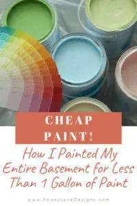 Cheap Paint // Can I mix two cans of paint // Can I mix different paint brands // What can you do with leftover paint // Mixing leftover wall paint // Blending old paints // Mixing oops paints // Mixing leftover paints // Mixing latex paint colors // Can you mix flat and satin paint // Can you mix gloss and flat paint