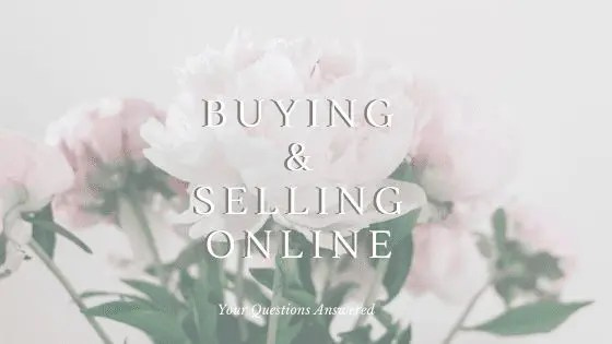 Buying and Selling Online