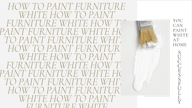 paint white // refinish furniture // white paint // painting furniture diy // white rustic furniture // farmhouse white paint // furniture white // painting wood furniture // diy painting furniture // paint wood white // white furniture // painted furniture idea