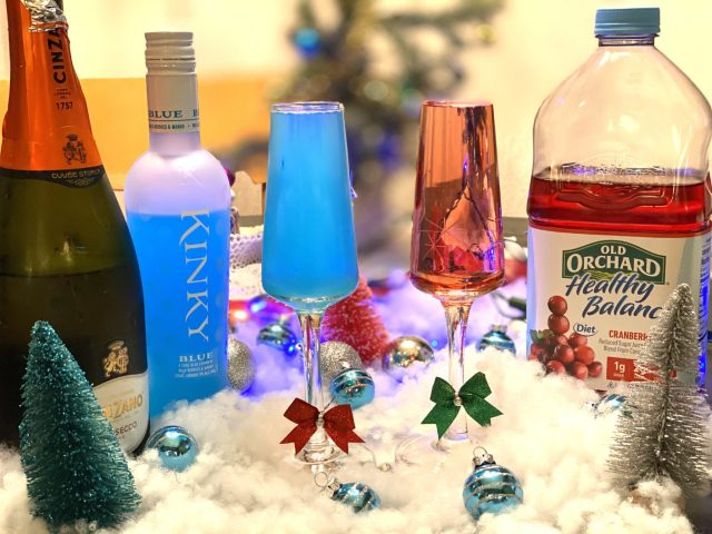 Christmas Champaign Cocktails