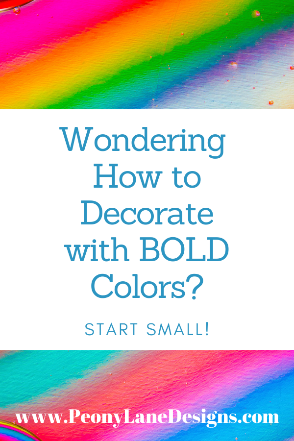 Decorating with Bold Colors // home decoration // home decor idease // diy decor // decoration ideas // decor inspiration