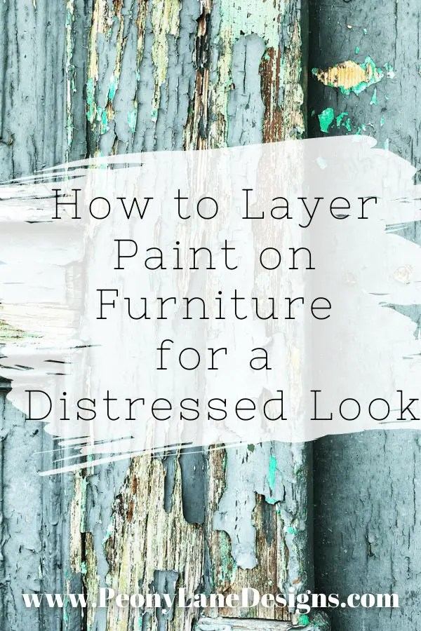 How to Layer Paint Colors on Furniture