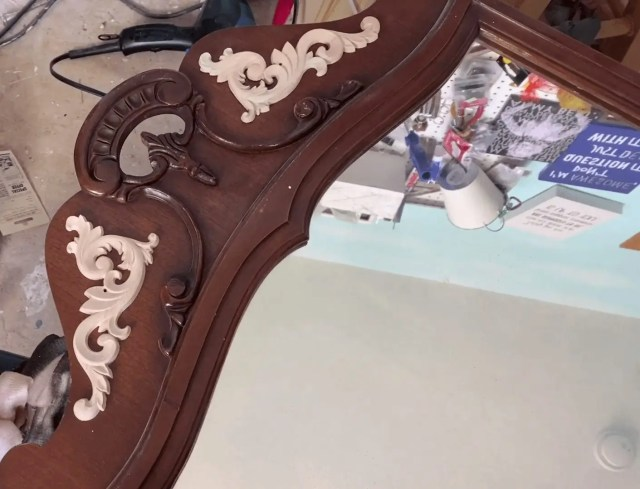Placed Wood Appliques