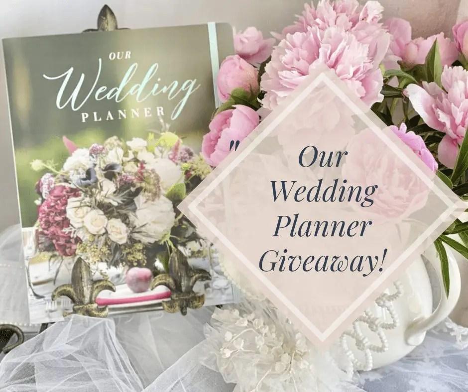 DIY Wedding Planner! Giving Away Our Wedding Planner by Alda Ellis