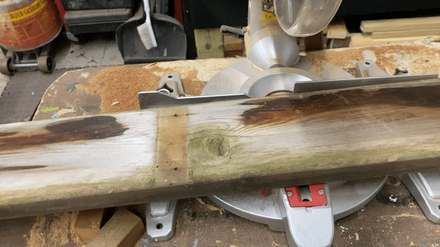 deck piece for upcycle