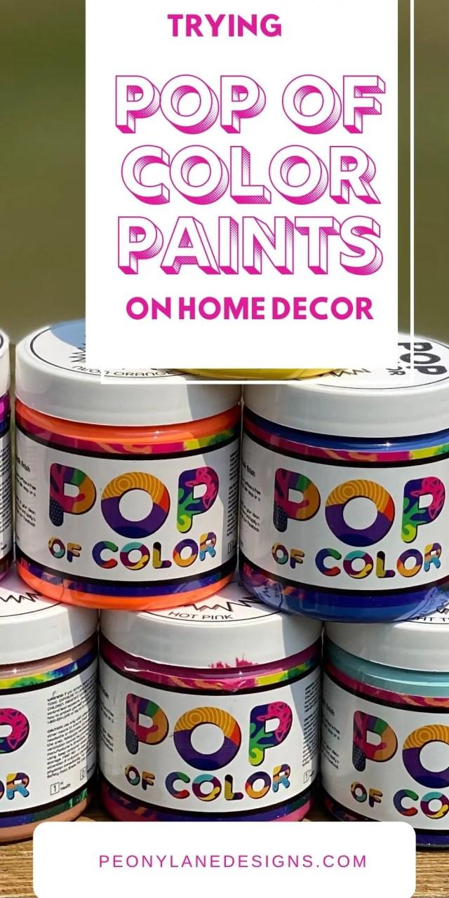 Pop of Color Paints