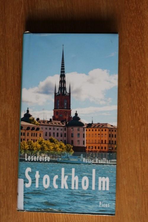 Buchbesprechung Lesereise Stockholm