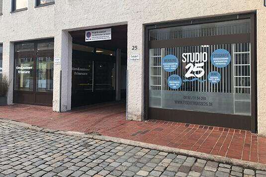 Studio25 in Freising - People-Pictures Studio Freising - Außenansicht