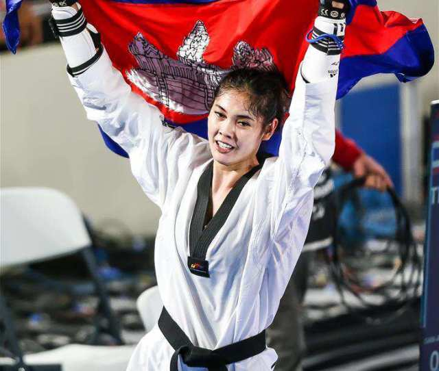 In Pics Taekwondo Finals At Southeast Asian Games