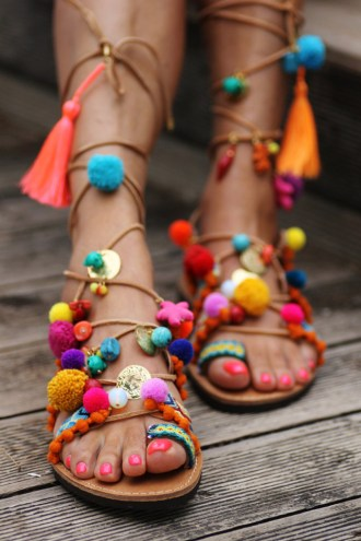 Most Beautiful Sandals by Elina Linardaki are Made in Greece
