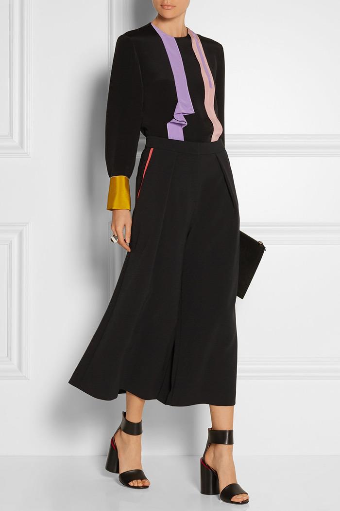 Wear to Work: Culottes, Roksanda Kilvin crepe culottes