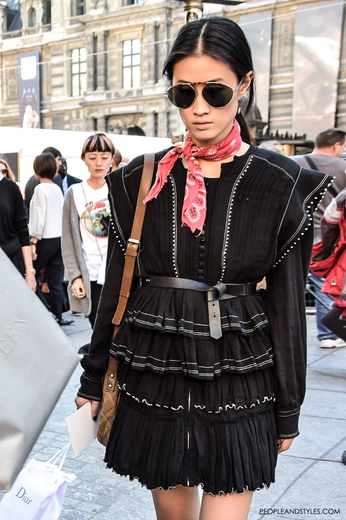 How to Wear Bandana Now - Street Style Latest Inspirations by PeopleandStyles.com