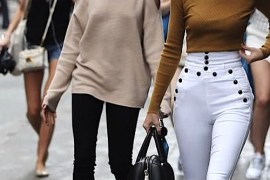 Women's fashion: how to wear cold shoulder trend by PeopleandStyles.com