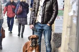 Winter casual look for men