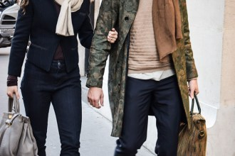 Men's Style: Elegant Trench Coat Paired with a Scarf – People & Styles
