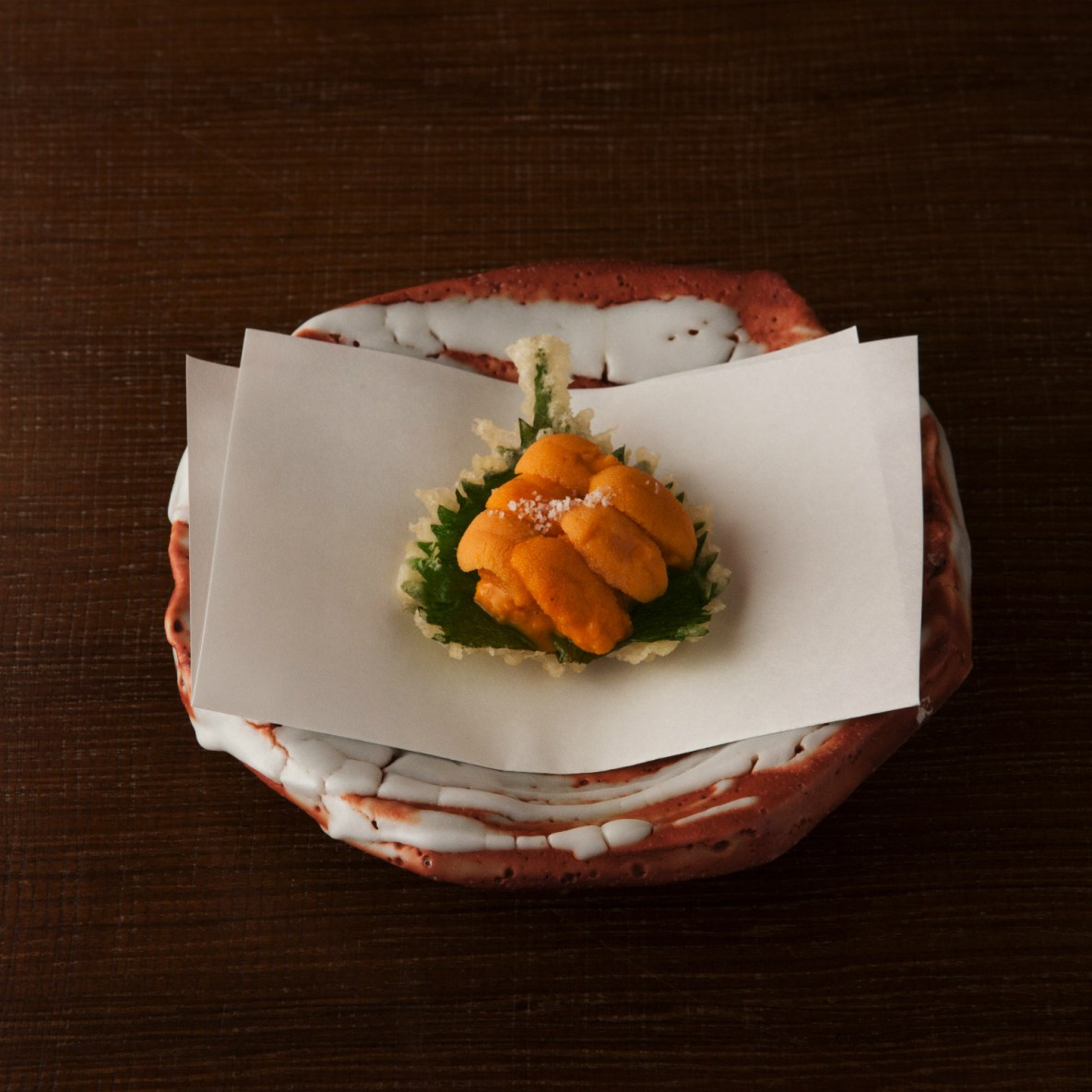 A young chef with a recipe intended to restore people's taste for tempura