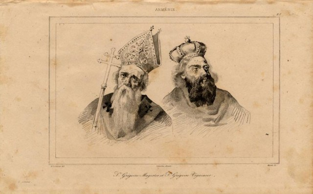 Print of Armenian Saints 1838