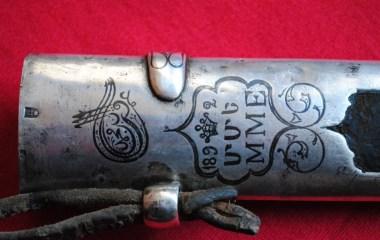 19th century Armenian dagger