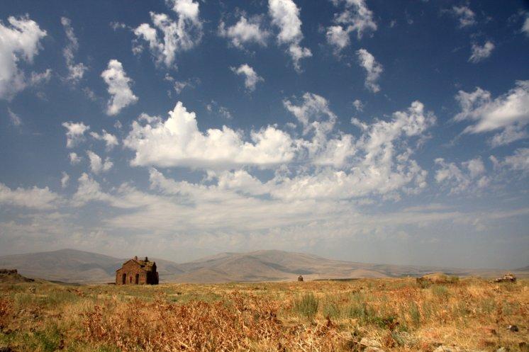 Medieval Armenian city Ani