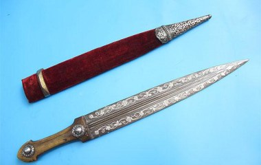 A rare and unusual Armenian 19th-c. dagger