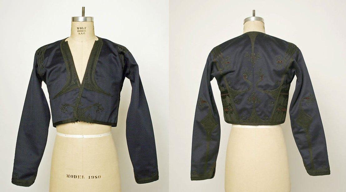 Armenian garment, late 19th century, wool & silk. - Metropolitan Museum of Art