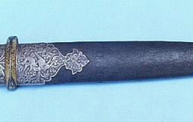 Armenian dagger dated-1841