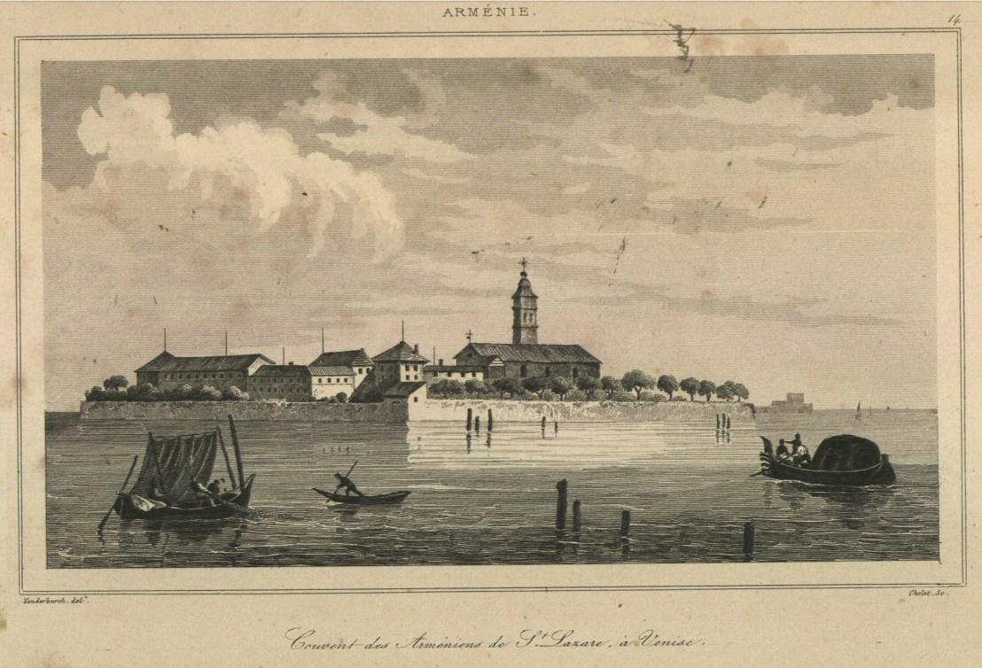 Armenian island st.-Lazarus in Venice