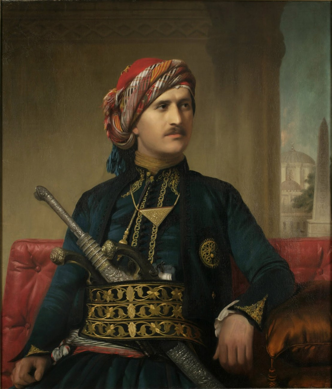 Armenian man from the Ottoman empire by Edward Ludlow Mooney (1848-1849)
