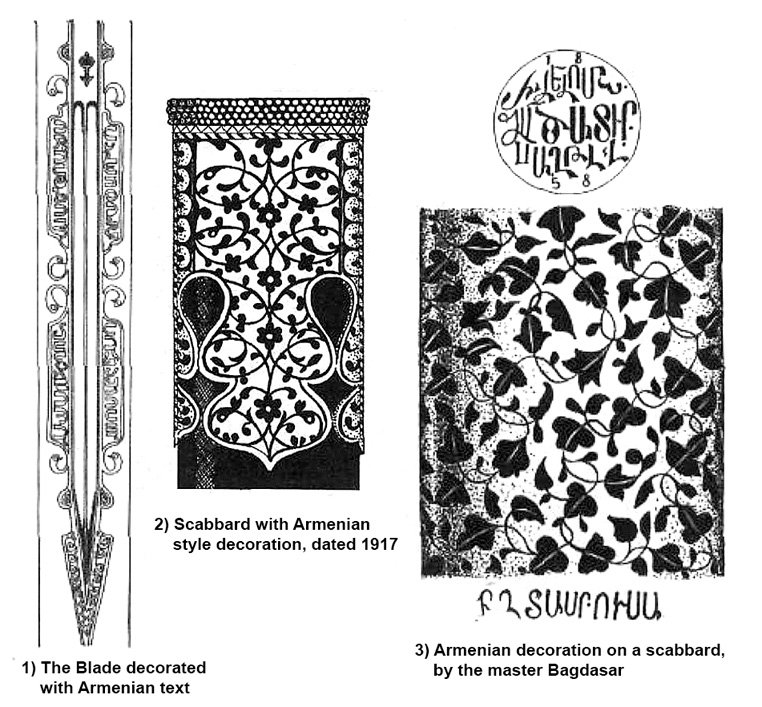 Floral decorations of Armenian type