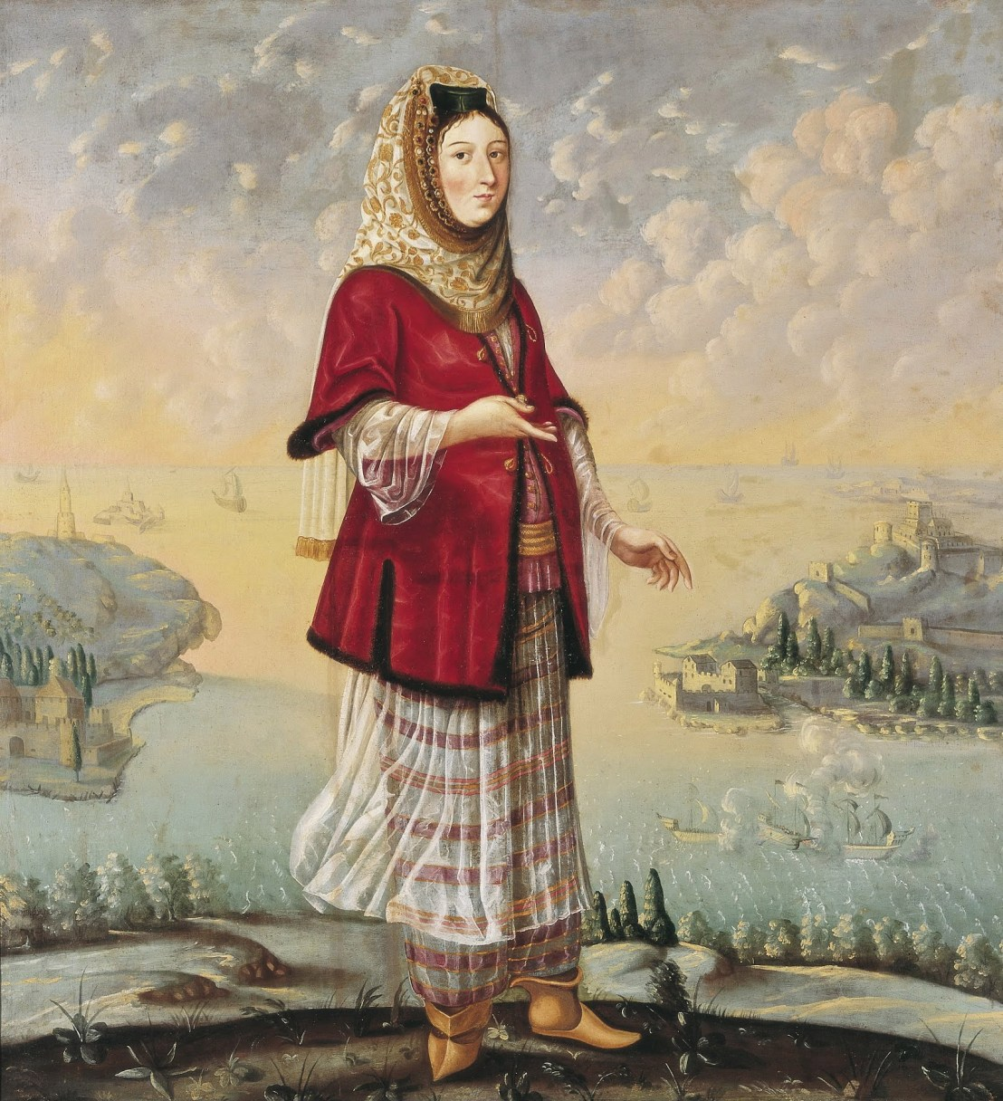 Armenian woman by Styrian painter Štajerski Slikar, 1682